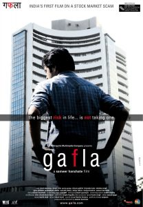 Gafla movie poster | Bollywood Movies on the Stock Market