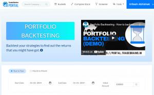 portfolio backtesting 1