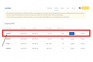 step 1 - How to apply for an IPO with ZerodhaAccount