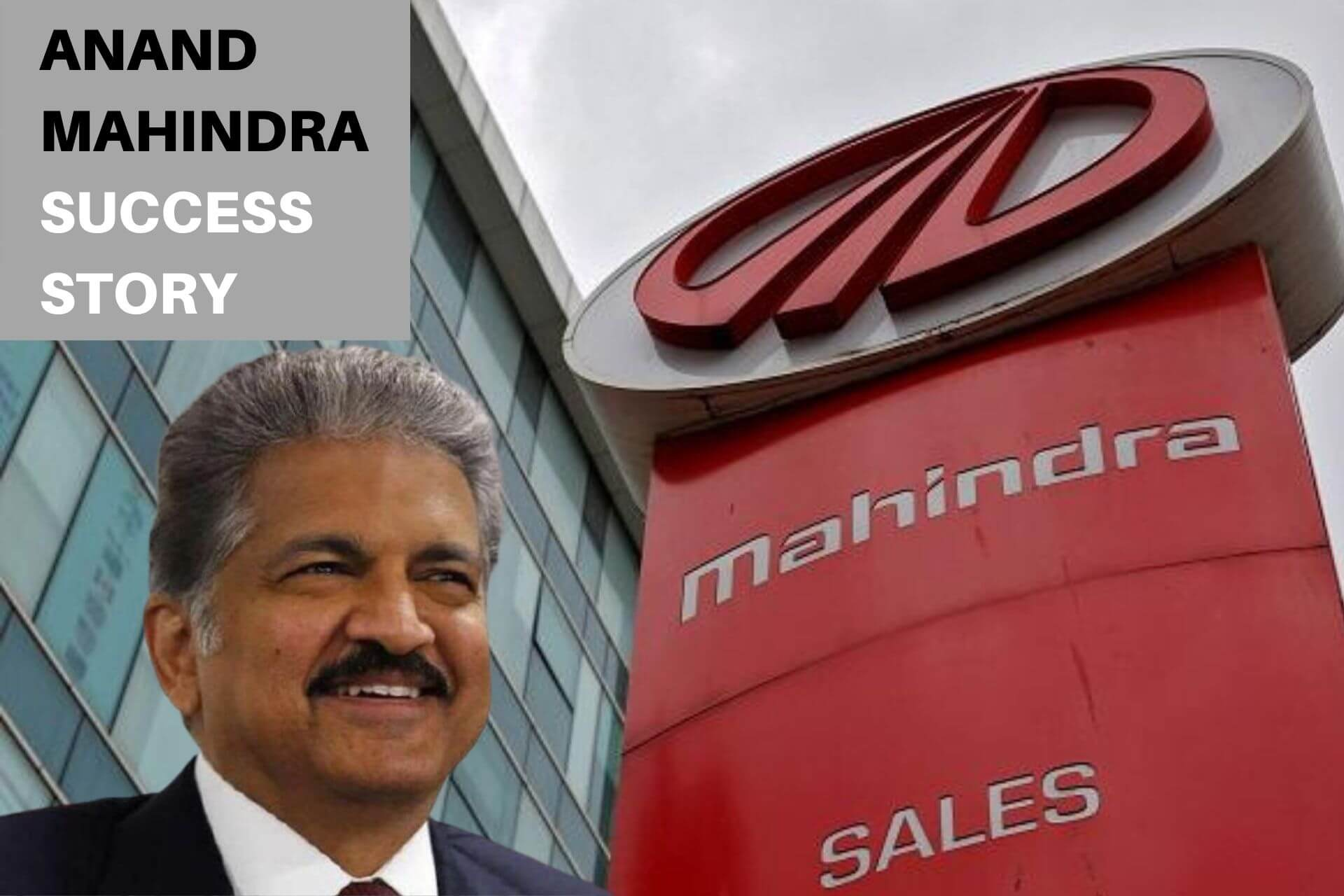 Anand Mahindra's Success Story cover