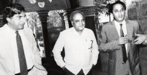 Ratan Tata, Pallonji Mistry and Ness Wadia from left to right