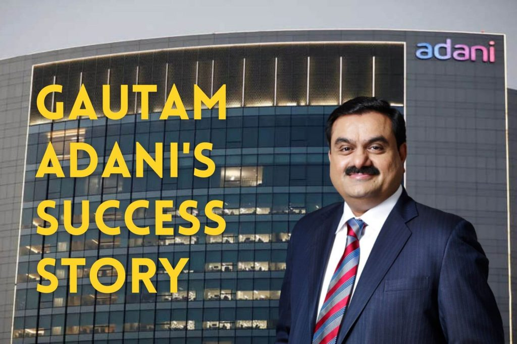 Gautam Adani's Success Story cover