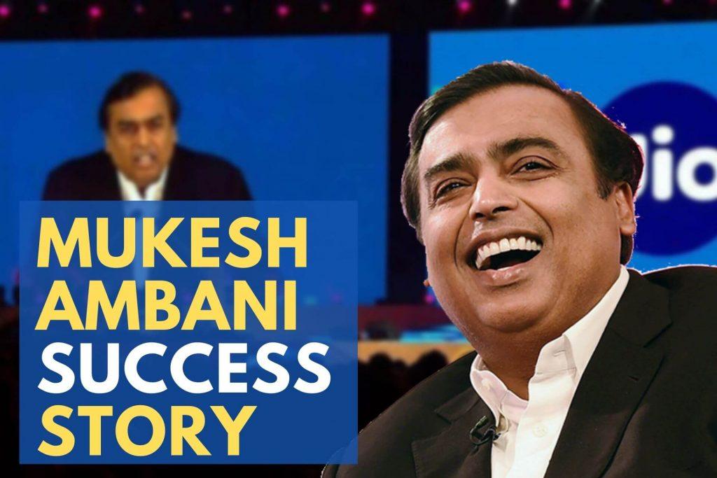 Mukesh Ambani Success Story - The Real Journey of India's Richest Man!