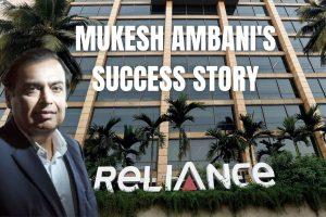 Mukesh Ambani's Success Story cover