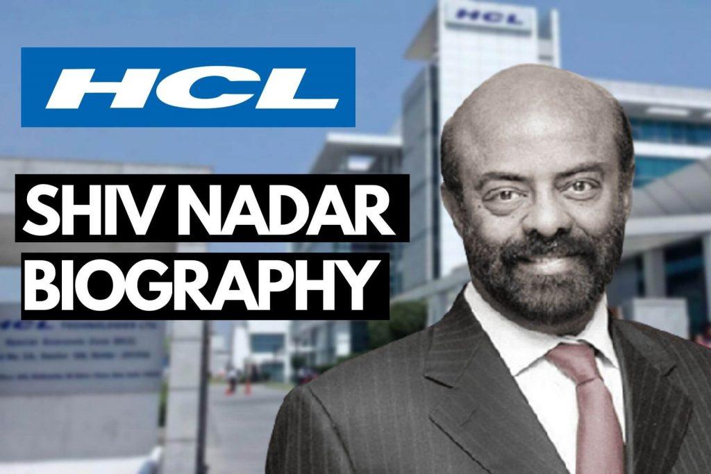 SHIV NADAR BIOGRAPHY cover