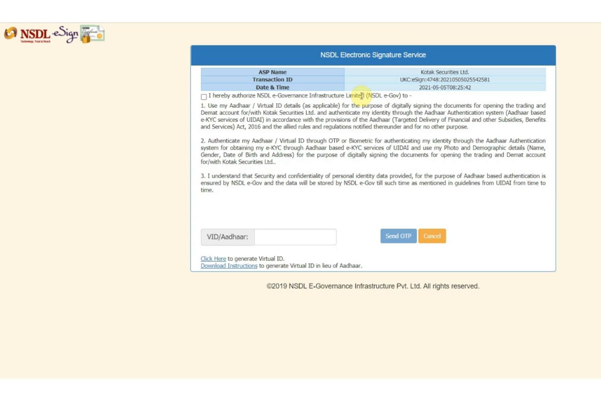 Step 12 Kotak Securities Account Opening Process
