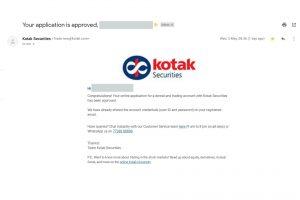 Step 14 Kotak Securities Account Opening Process