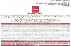Zomato Limited's DHRP