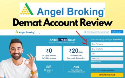 Angel Broking Review – Demat & Trading Account Honest Review!