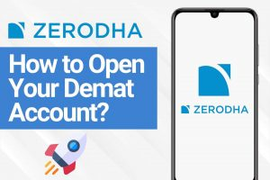 How to Open a Demat and Trading Account at Zerodha cover zerodha Step by step process