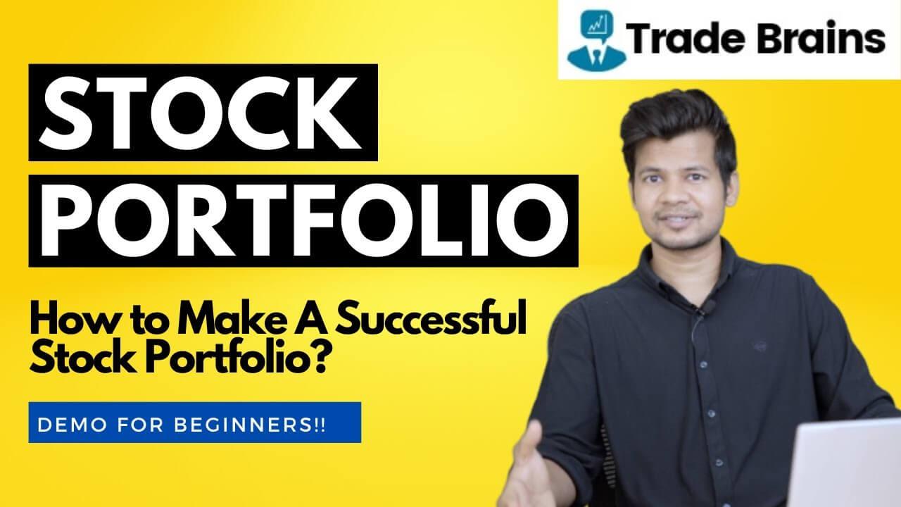 stock market portfolio - how to build portfolio