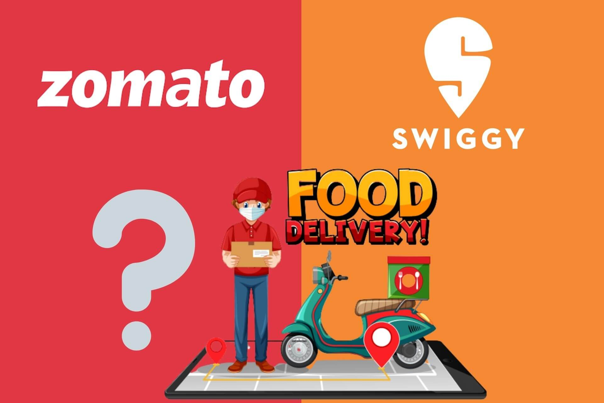 Swiggy vs Zomato: Which one is Better Food Aggregator?