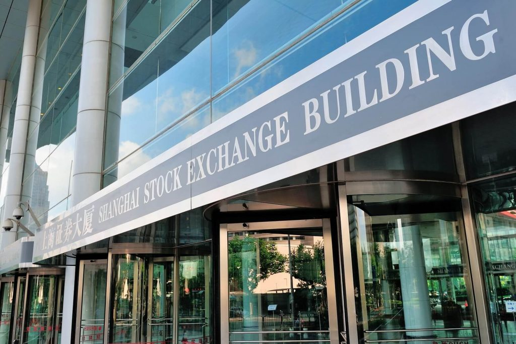 shanghai largest stock exchanges in the world