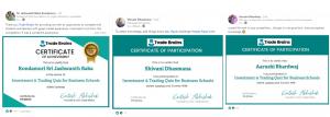trade brains quiz competition certificates