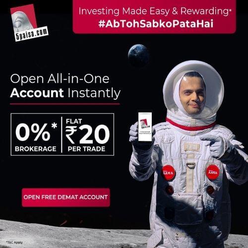 5Paisa Astronaut Ad