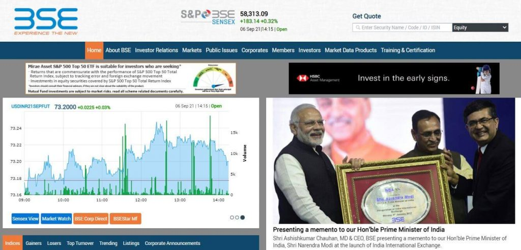 BSE India Must Know Websites for Indian Stock Market