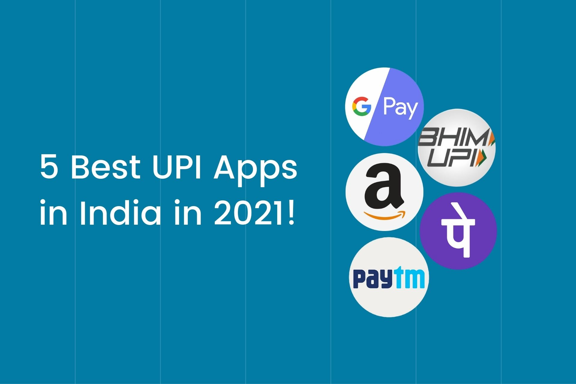 Best UPI Apps in India Cover