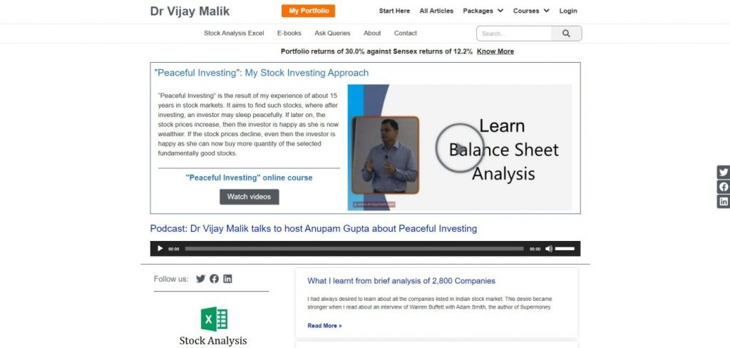 Dr Vijay Malik Blog
