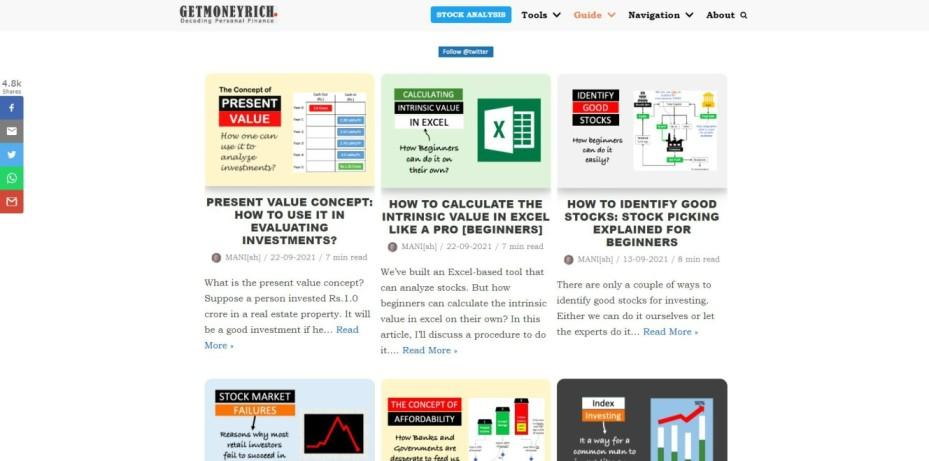 Get Money Rich Blog | Best Indian Stock Market Blogs