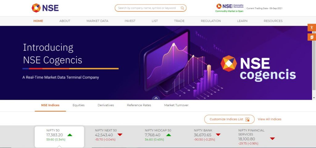 NSE India Must Know Websites for Indian Stock Market