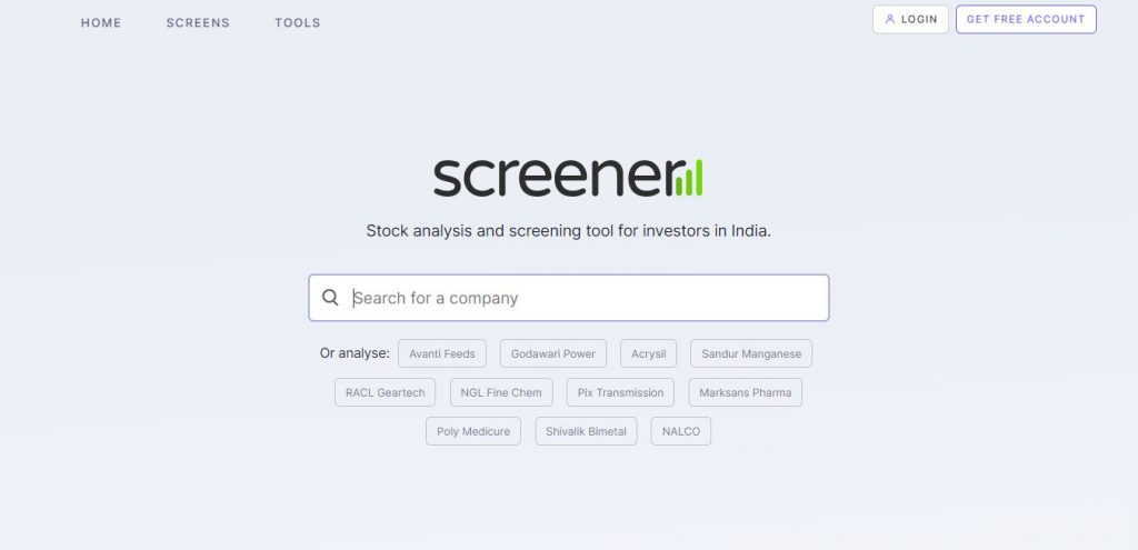 Screener Must Know Websites for Indian Stock Market
