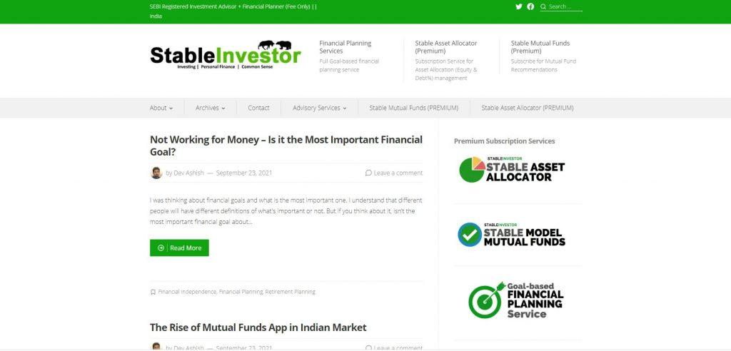 Stable Investor Blog