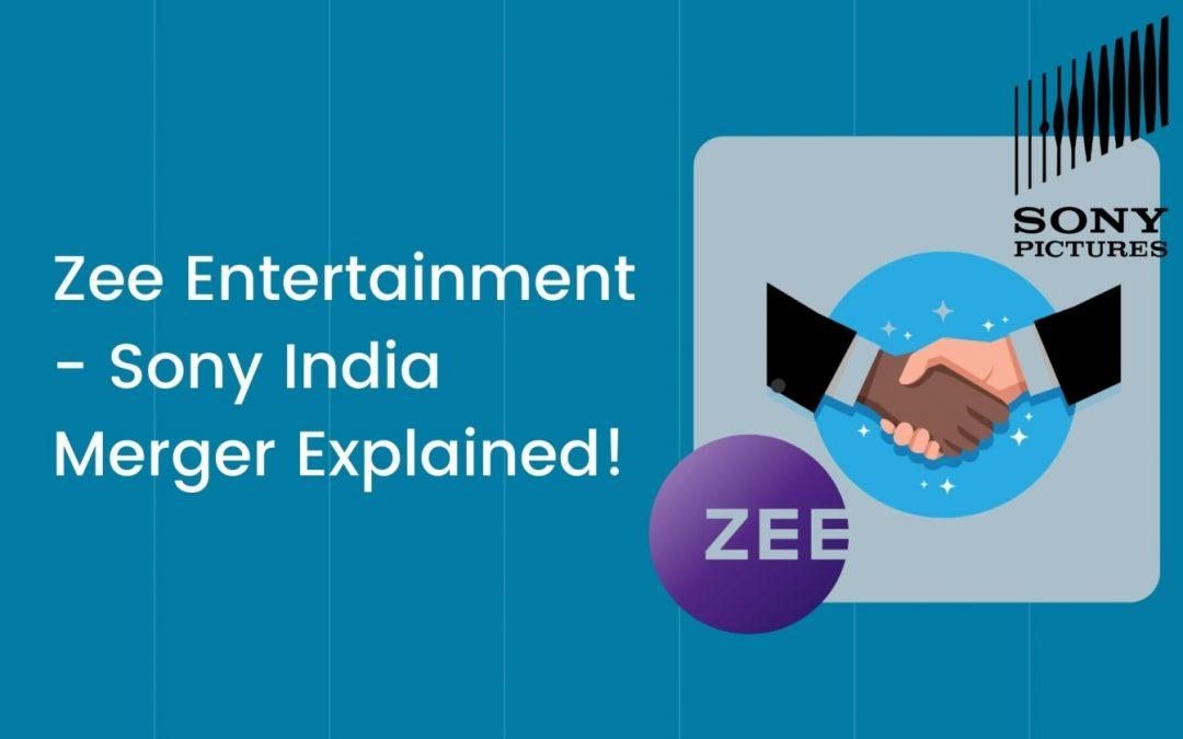 Zee Entertainment – Sony India Merger Explained! Rallying Zee stocks make Jhunjhunwala Rs.50 Cr in 8 days!
