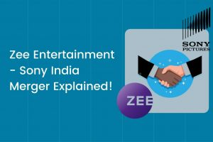 Zee Entertainment - Sony India Merger cover