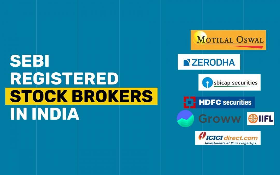List of SEBI Registered Stockbrokers in India 2021 (With Total Active Clients)